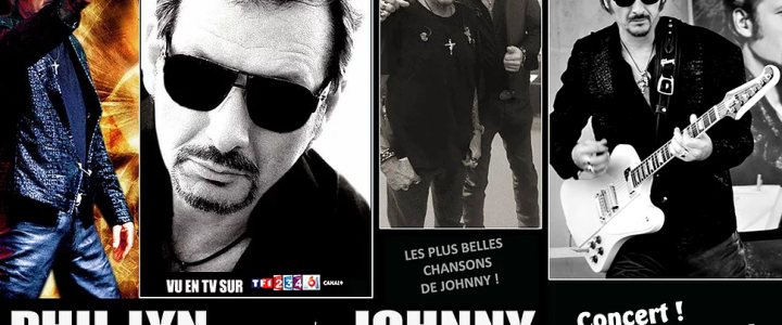 PHIL LYN  CHANTE  JOHNNY LE 02 NOVEMBRE 2018 A 21 H 30 A L'ALCÔVE